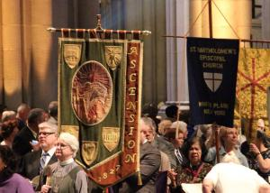 Ascension Banner at Cathedral