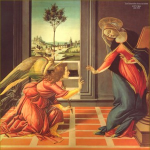 Cestello Annunciation by Botticelli