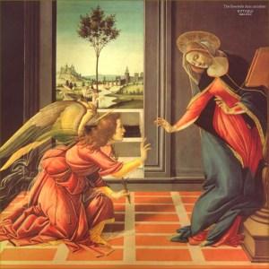 Cestello Annunciation by Botticelli