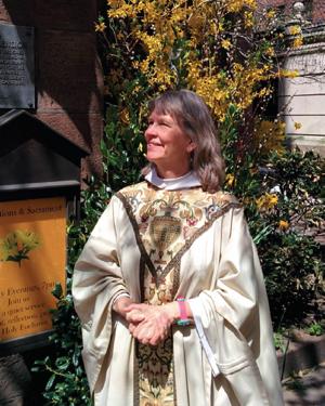 The Rev. Elizabeth Maxwell, Ascension's Twelfth Rector