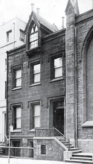 Ascension Rectory, circa 1955