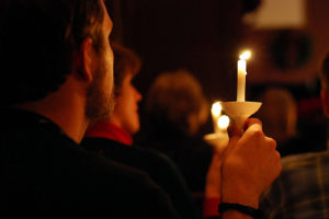 candlelight service