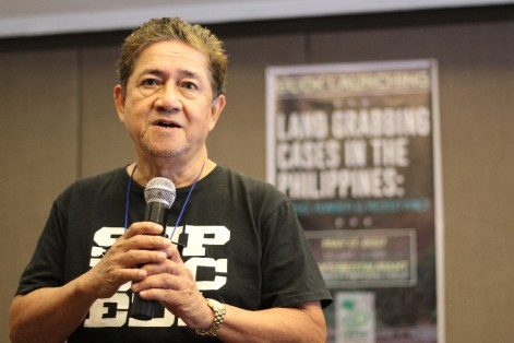 PNFSP Chairperson Prof. Ed Devesa welcomes those who attended the booklaunch