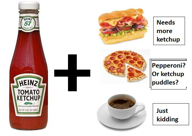 Things Indians Love: Ketchup