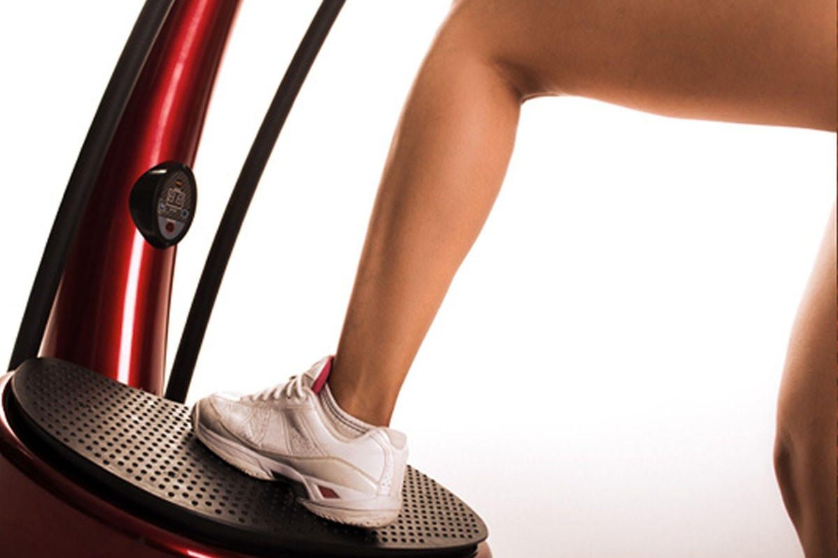 Vibrationsgerät als Physiotherapie