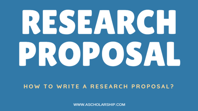 Research Proposal  Research Proposal for Scholarship Applications
