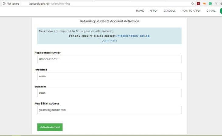 Registration Procedure - Kanopoly new intake registration procedures - kanopoly fresher Registration Procedures