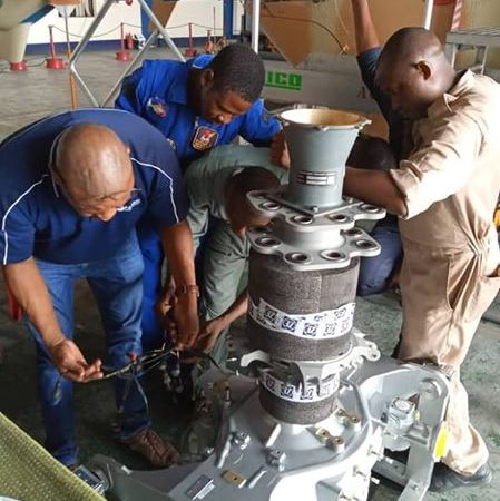 NAF PERSONNEL ACTIVELY PARTICIPATE IN REACTIVATION