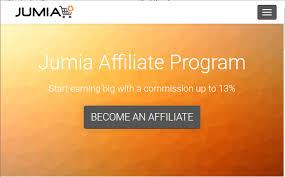 How to become an affiliate marketer on jumia