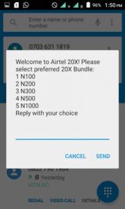 How to Activate airtel extra 20X bonus