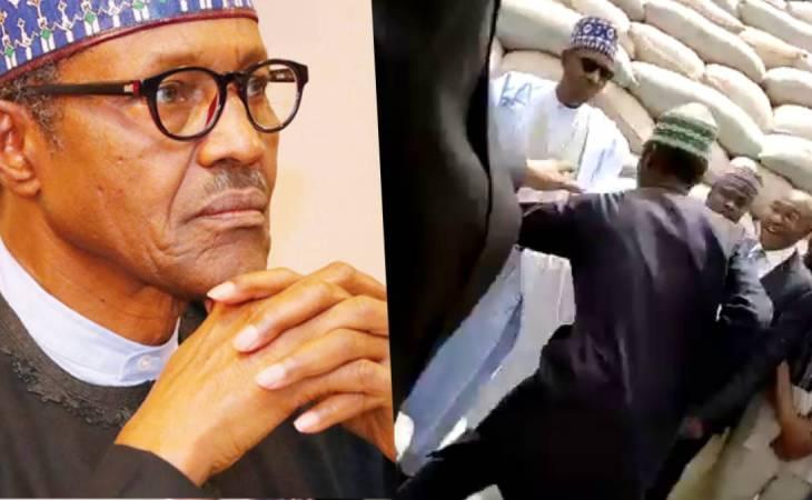 Angry Hausa Man Attacks President Buhari in Kebbi State (video) 1
