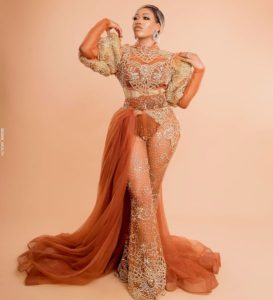 Toyin Lawani new dress