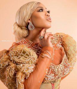 Toyin Lawani new dress style