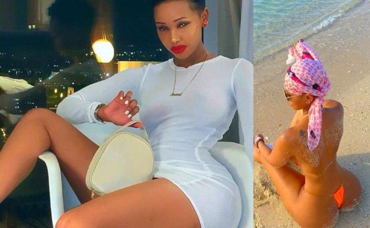 Model, Huddah Munroe Sends Tongue-Wagging Over Her Killer Body Curves In New Bikini Photo 1