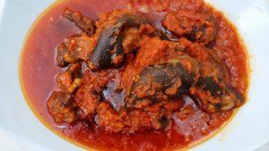 SISIYEMMIE Goat Meat Stew Preparation