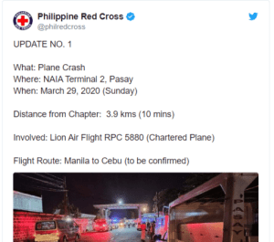 (Video) Plane evacuating Coronavirus Patients from Philippine Crashes, All dead (video) 7