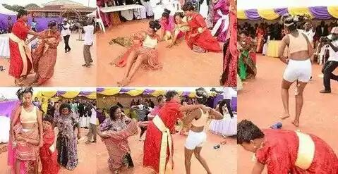 Bride Run Mad And Undressed Herself On Her Wedding Day — See Photos 1