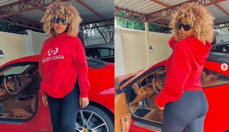 """I'm putting on grown woman's weight staying in the house"" – Regina Daniels flaunts her new hot body (Photos) 1"