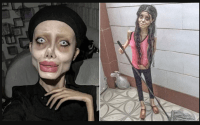 Angelina Jolie 'lookalike' Sahar Tabar is on a ventilator after contracting Coronavirus in prison 7