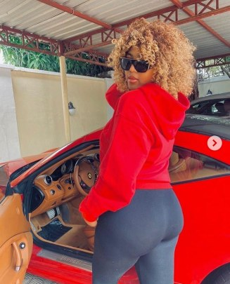 """I'm putting on grown woman's weight staying in the house"" – Regina Daniels flaunts her new hot body (Photos)"