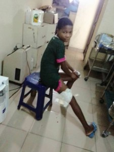 Female police officer accused of dousing 13-year-year-old niece with hot water in Rivers state (Photos)