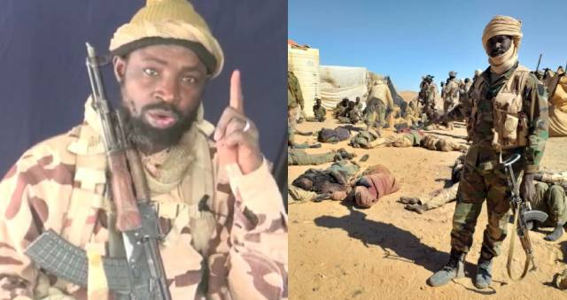 Boko Haram Leader begs his members not to run after Chadian soldiers killed many of them (audio)