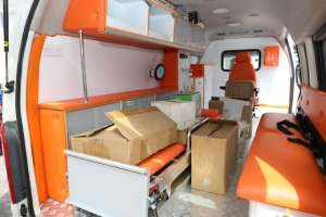 Coronavirus : Winners Chapel donates an ambulance, medical equipment & protective gear to NCDC.