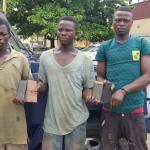 Coronavirus Lockdown : Three arrested for robbing stranded commuters in Lagos. 1