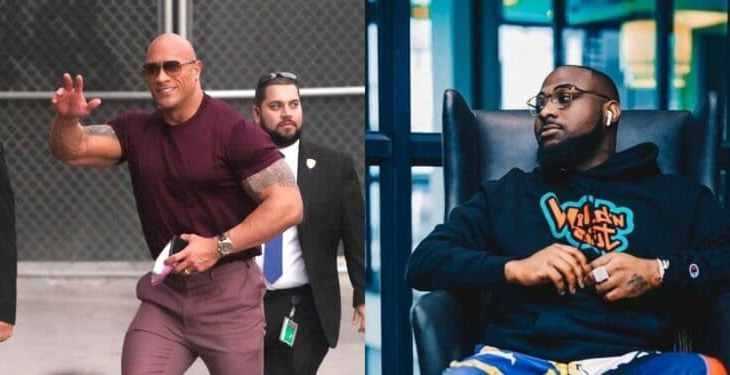 Davido is a good friend of mine, he makes the best African music -American actor Dwayne 'De Rock' Johnson says (video)