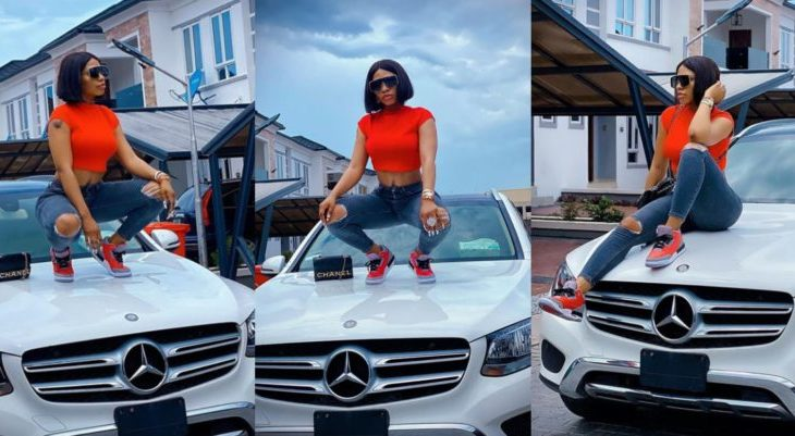 """""""Life is tough when everyone is watching your next move"""" – Mercy Eke says, shares adorable photos"""
