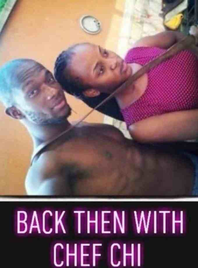 Throwback photo of Chioma and her alleged ex-boyfriend resurfaces