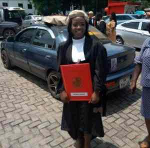 Meet Elizabeth, the lady who works as a lawyer by day and a nurse at night (Photos)