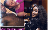 Throwback photo of Chioma and her alleged ex-boyfriend resurfaces 3