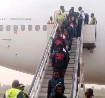265 stranded Nigerians back from UAE today