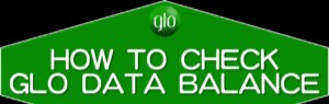 How To Check Glo Weekend Data Plan Balance