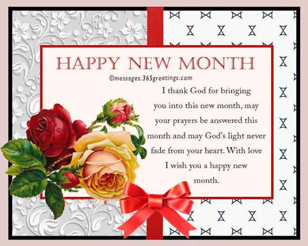 New Month for Friends