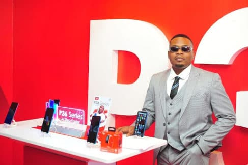 itel mobile and Olamide launch P36 and P36 PRO in first virtual product launch