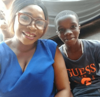 """He was detained in Asaba"" Missing 11-year-old son of single mother is found alive and healthy 1"