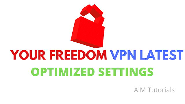 "Unlimited Browsing Using ""Your-Freedom VPN"""
