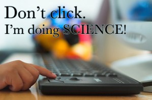 Computer doing science