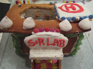 Gingerbread Laboratory Top