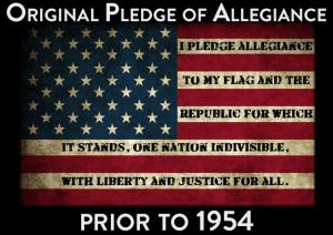 Ben Carson pledge of allegiance