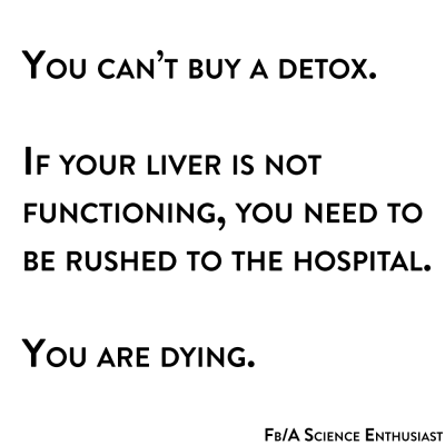 you can't buy a detox