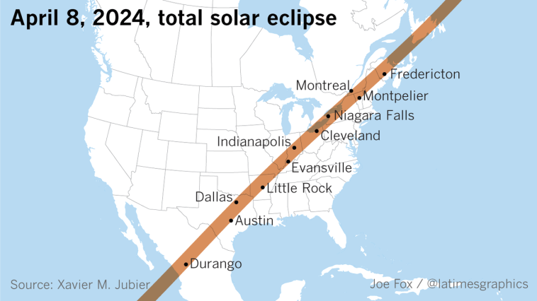 The Next Total Solar Eclipse In The Us Is April 8 2024