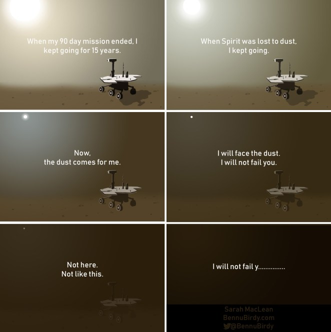 did the mars rover say my battery is low - photo #17