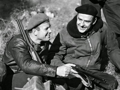 Komarov and Gagarin