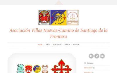 LA ASOCIACIÓN VILLAE NAEVAE-CAMINO DE SANTIAGO DE LA FRONTERA ESTRENA NUEVO BLOG