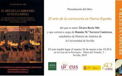 PRESENTACIÓN DEL LIBRO TITULADO EL ARTE DE LA CARROCERÍA EN NUEVA ESPAÑA