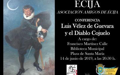 CONFERENCIA: LUIS VÉLEZ DE GUEVARA Y EL DIABLO COJUELO
