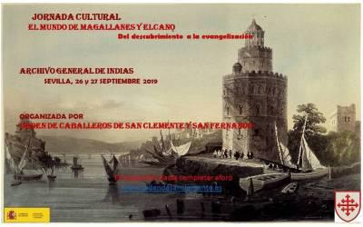 JORNADA CULTURAL: EL MUNDO DE MAGALLANES Y EL CANO. DEL DESCUBRIMIENTO A LA EVANGELIZACIÓN